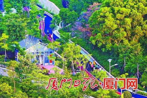 厦门:严格保护重要山体 合理建设便民绿道