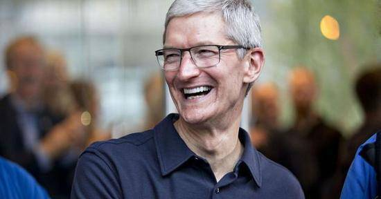 苹果市值创新高 成首家市值达1万亿美元的美国上市公司