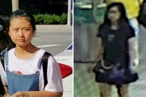 中国女孩疑在美国机场遭绑架始末 监控曝光绑架详情被亚裔女性带走