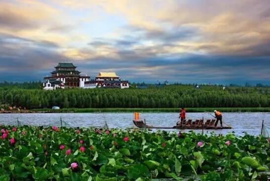 吉林松原查干湖旅游度假区 四季分明韵味迷人