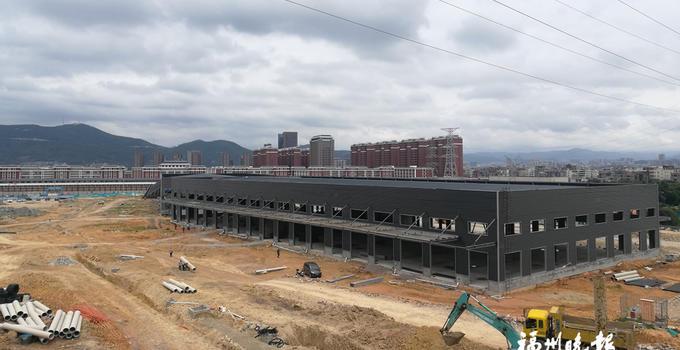 福清智能化公路港月底试运行 定位为第四方物流