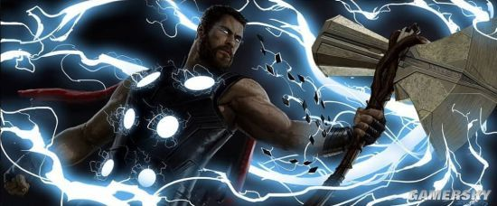 复仇者联盟3无限战争未曝光概念图 钢铁侠、雷神帅炸了