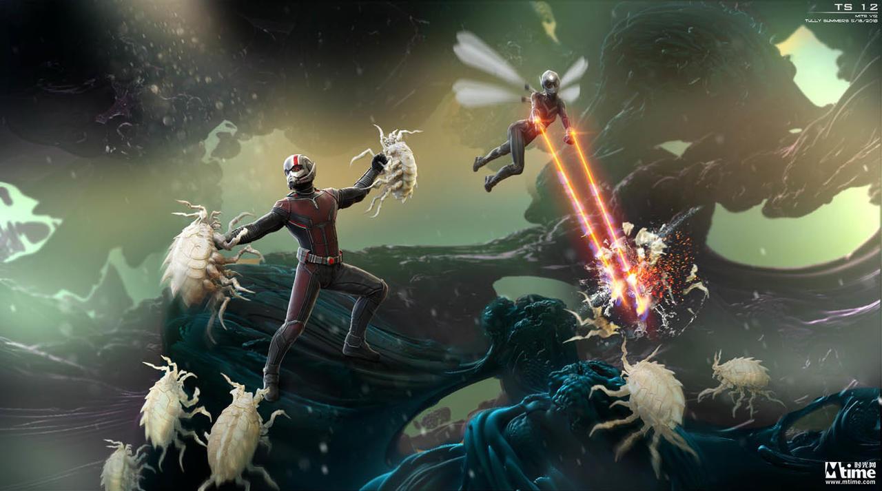 蚁人2原始概念设计图曝光 星球大战虫族只只惟妙惟俏!