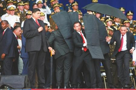 无人机炸弹暗杀委内瑞拉总统凶手被抓,无人机刺杀总统案事情真相