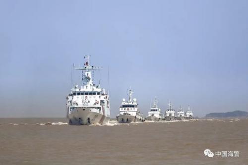 中国海警:去年以来查获涉嫌走私成品油案856起