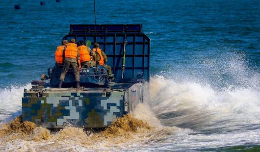 海上登陆接力赛将在石狮将军山海域举行