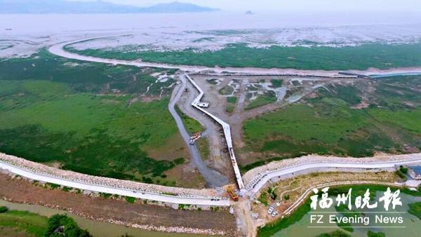 闽江河口湿地公园10座观景亭完工 观鸟将更方便