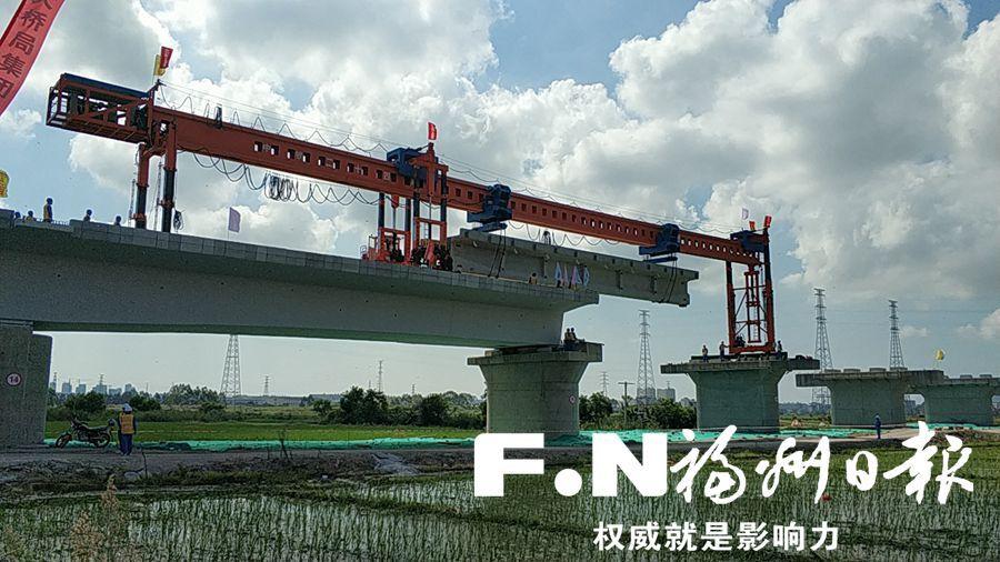 福平铁路开始架梁铺轨 力争2020年全线建成开通