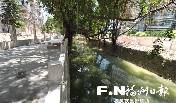 """福州陆庄河""""卷地毯""""扫尾攻坚加速 本月底建成开放"""