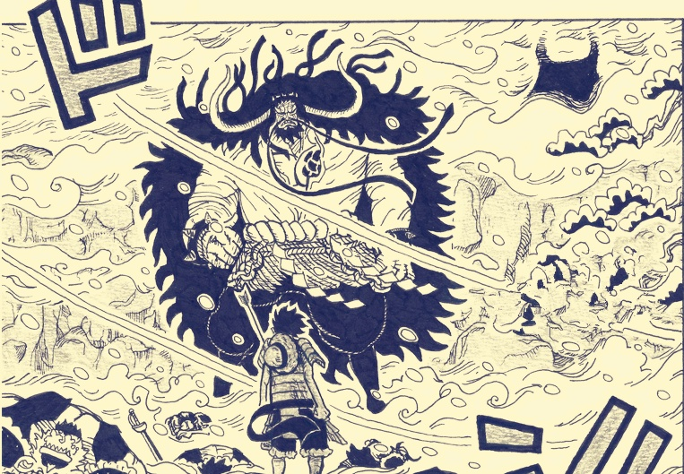 海贼王漫画914话:凯多欲毁灭和之国 罗果实能力觉醒