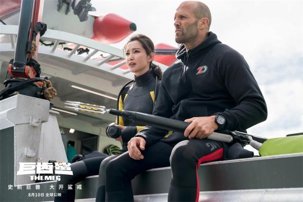 《巨齿鲨》首周国内票房破3.4亿 全球票房第一