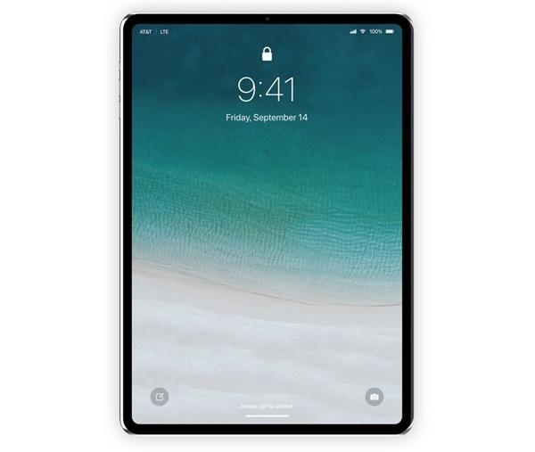 2018款iPad Pro照片曝光 两款全部标配Face ID