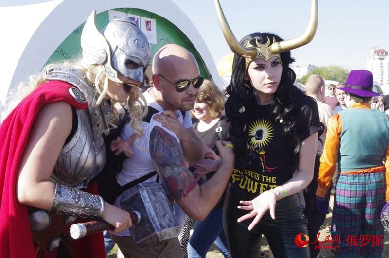 大型科技艺术节Geek Picnic在莫斯科举行