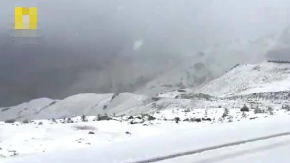 新疆降雪几十公里外却酷暑难耐 新疆8月降雪正常吗为什么降雪?