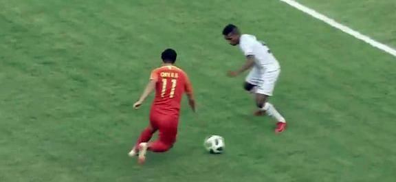 国足6-0胜东帝汶 上半场便取得5-0的巨大领先优势