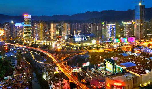 岳峰东二环商圈打造潮流不夜城 创建夜色经济品牌