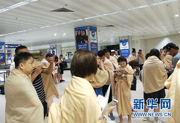 澳门银河手机版官网厦航一客机在菲律宾马尼拉机场降落时偏出跑道
