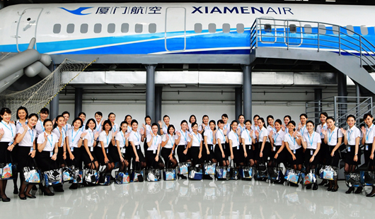 澳门银河手机版航空再迎百名台湾籍空中乘务员