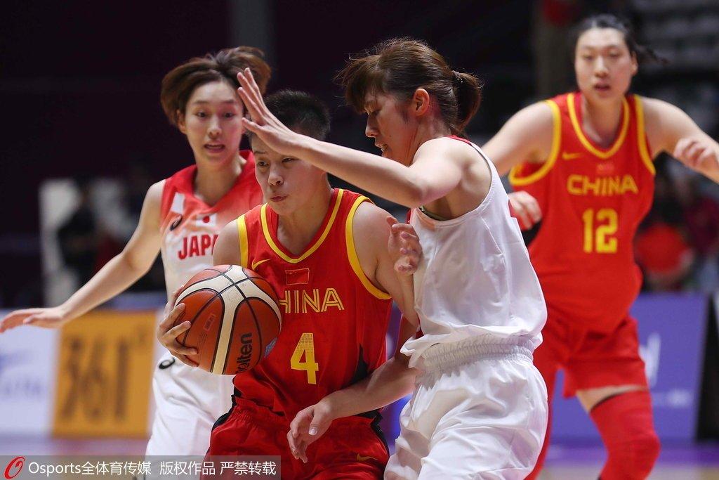 亚运-女篮32分大胜终结对日本六连败 刘佳岑18+6