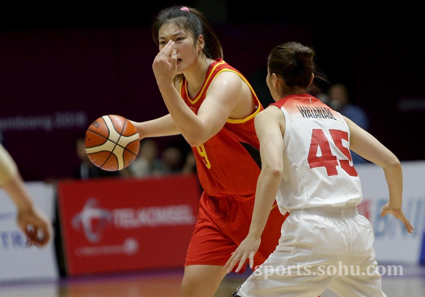 亚运会:女篮32分大胜日本 双方首发阵容李梦得18分