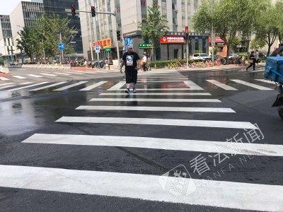 北京全向十字路口有什么提升效果 行人可避免二次过马路
