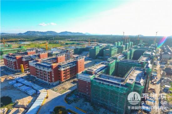 平潭首所大學10月將迎來首批1200位師生