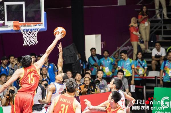 亚运会男篮比赛中国队2分险胜菲律宾队 中国队下一场比赛时间