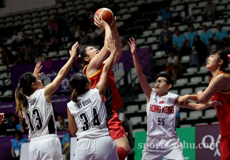 中国女篮92分大胜中国香港队 比赛过程详解双方首发介绍