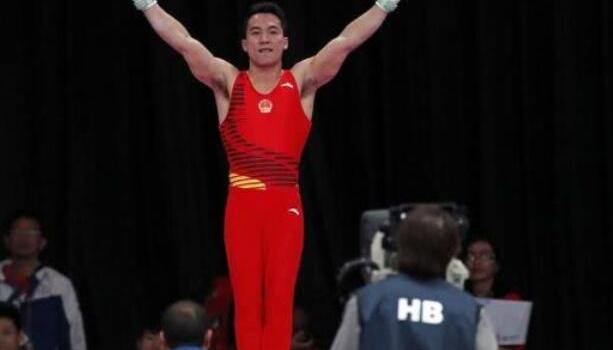 邓书弟吊环金牌 亚运会中国体操小花包揽高低杠冠亚军