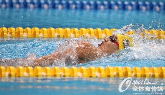 徐嘉余仰泳冠军 这是他的第四冠 徐嘉余哪里人个人资料介绍