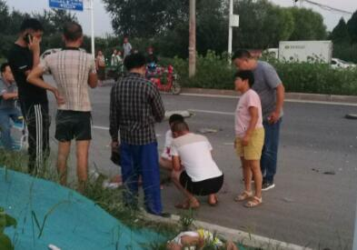 惨!石家庄高新区发生重大车祸 2名儿童死亡3人重伤
