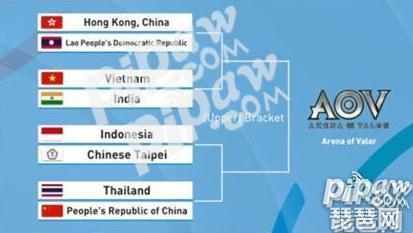 2018亚运会王者荣耀比赛直播地址分组情况 泰国队vs中国队