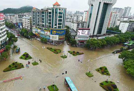 广东暴雨洪涝