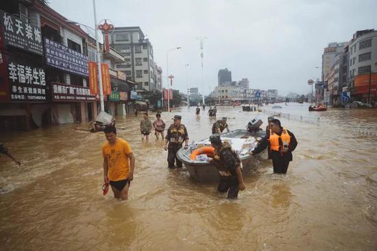 广东暴雨洪涝120.8万人受灾!广东暴雨为何造成这么大影响【图】