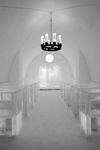 实现梦寐以求的婚礼梦 全世界7个最浪漫结婚教堂