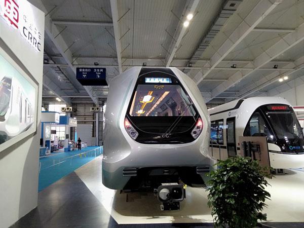 新一代地铁亮相 这个列车绝对是与以往是大不同的