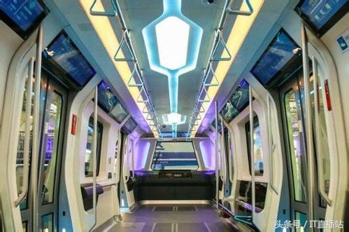 新一代地铁亮相添加更多黑科技