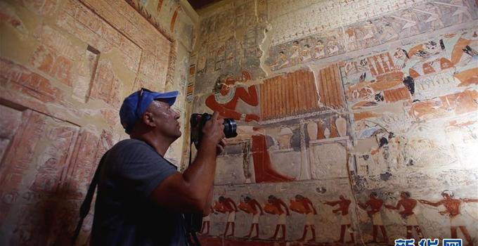 埃及4000多年前古墓开放里面有木乃伊吗?埃及前古墓壁画还鲜艳?