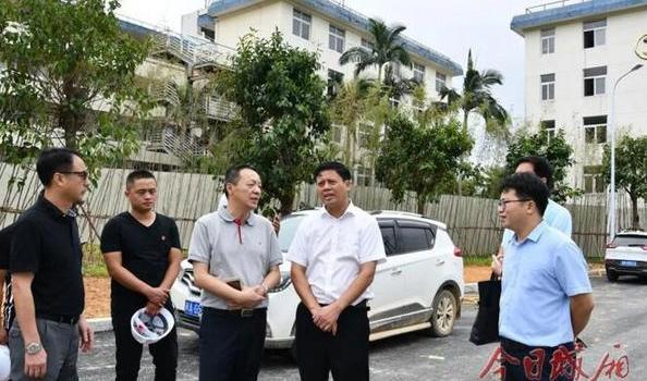 莆田城厢区长吴文恩调研原贝克啤酒厂改造项目