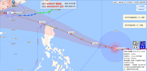 超强台风山竹什么时候来会在哪里登陆 超强台风山竹是几级的?