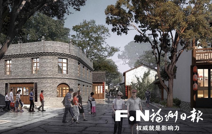 长乐和平街特色历史文化街区一期春节前对外开放
