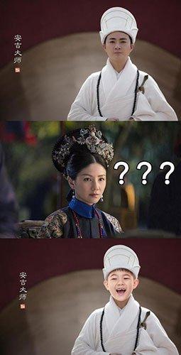 网友将如懿角色P成安吉 胡可:要不要进宫陪本宫