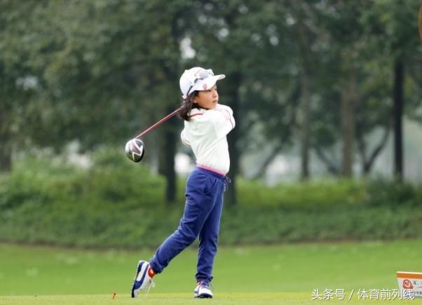 刘国梁女儿得高尔夫总冠军,刘宇捷个人资料照片参赛经历