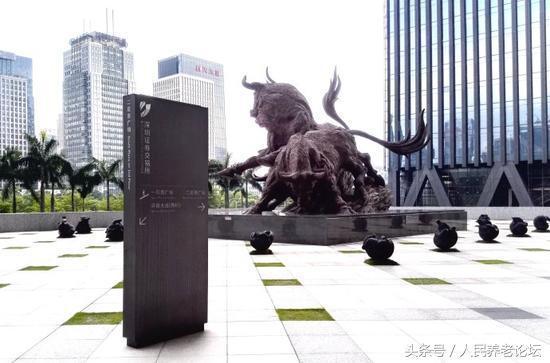 山竹没吹倒深交所牛雕塑真相到底是啥?但大象却真捆了安全带!