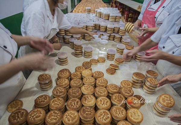 非遗传承——手工李氏月饼