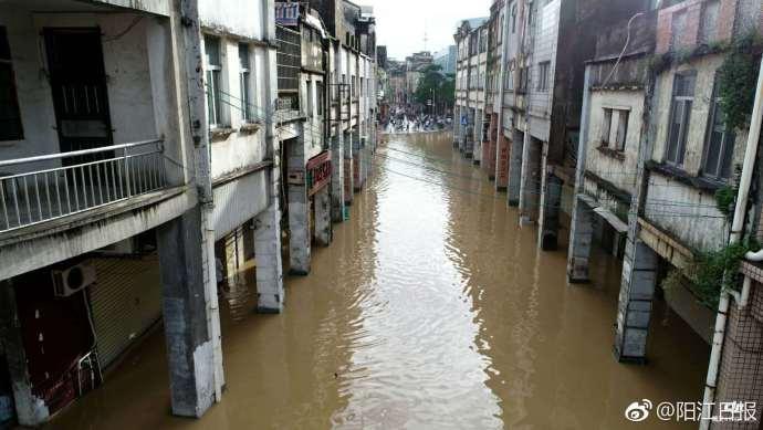 广东阳春发生水灾怎么回事?广东阳春发生水灾照片曝光受灾情况介绍