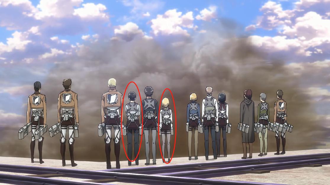 进击的巨人第三季第9集:赫里斯塔将成为女王 兵长并不是最矮的