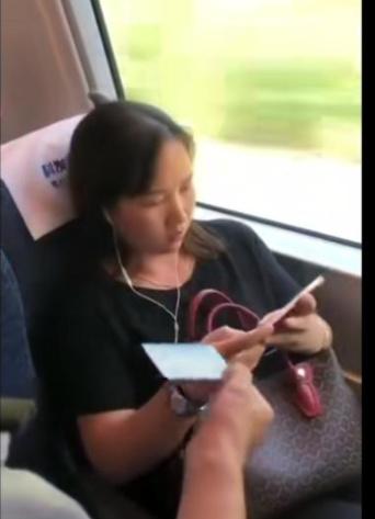 铁路人员还原霸座经过 霸座女最终没有受到处罚?