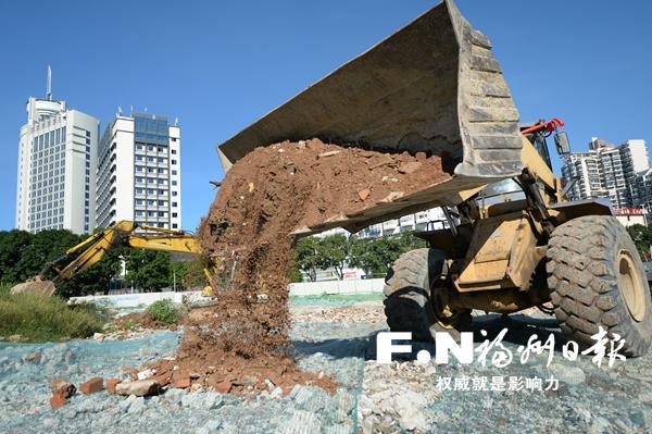 福州55个重大项目19日集中开工
