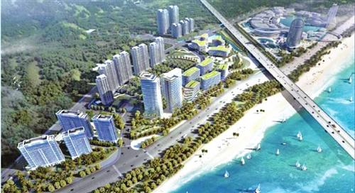 福州三江口片区 开建多个综合体